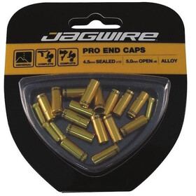 Jagwire Universal Pro End Caps 10x4,5mm gold